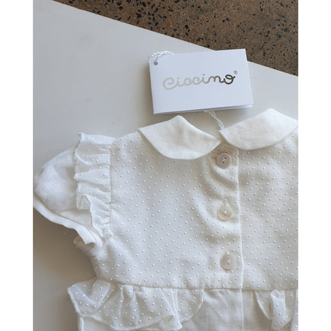 ROSEMARY BABY GIRL ONESIE