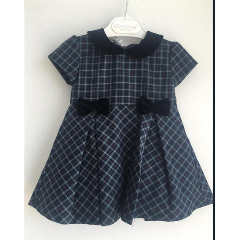 MADELINE PLAID DRESS