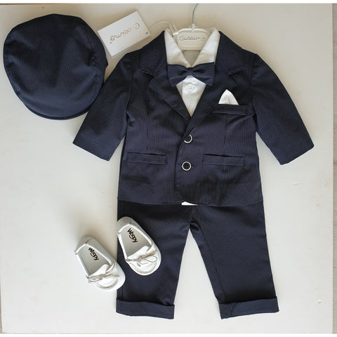 HUGO FOUR PIECE SUIT SET