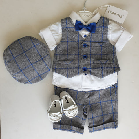 DUTTON FOUR PIECE SUIT SET