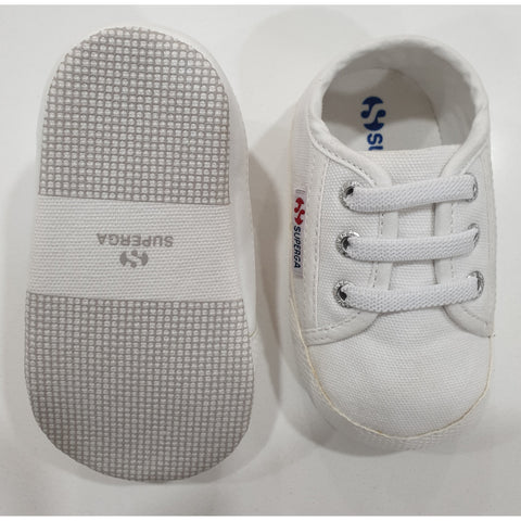 4006 COTB - BEBE SNEAKERS IN WHITE