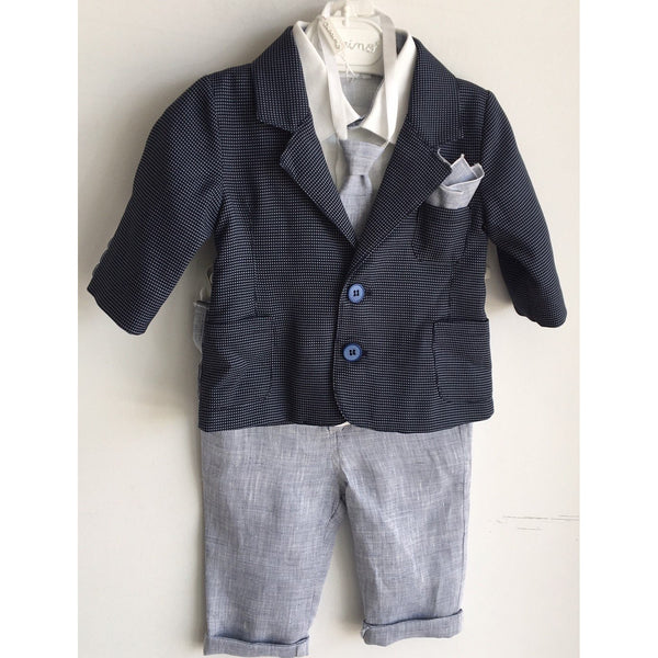 LEO FOUR PIECE SUIT SET