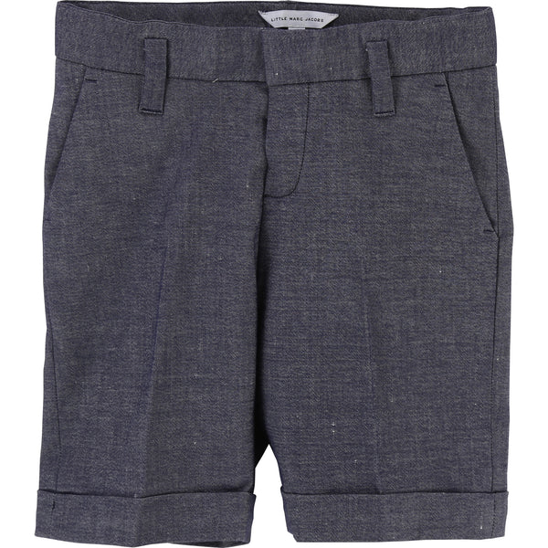 BOYS TAILORED SUIT BERMUDA SHORTS
