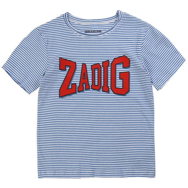 BOY ZADIG LOGO T-SHIRT