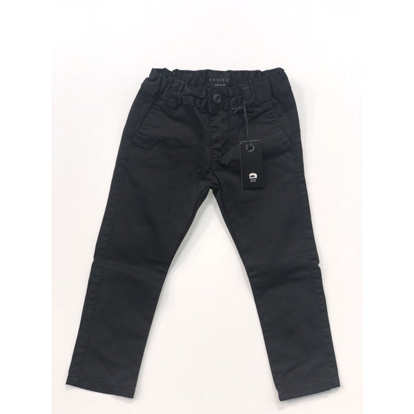 ADDISON BLACK TAILOR PANT