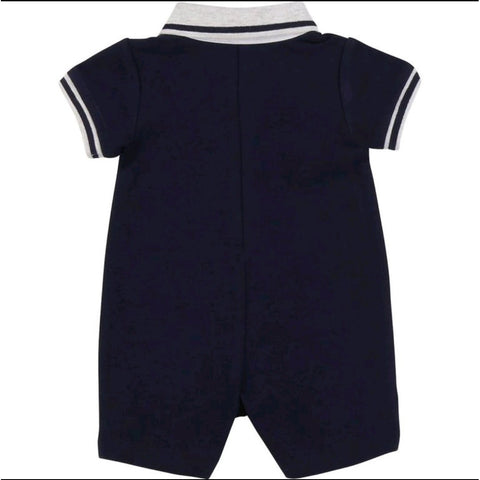 BABY BOY COLLARED OVERALL