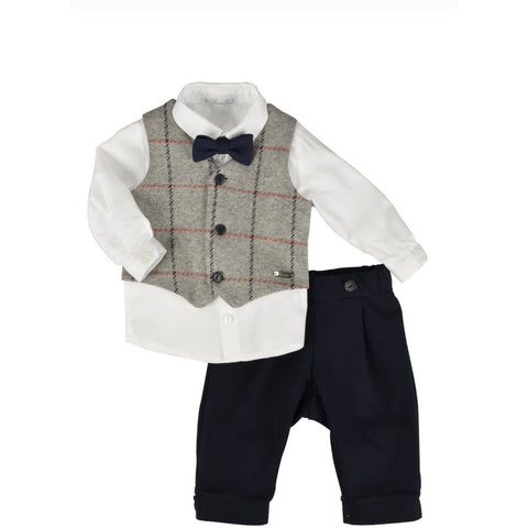 FRANCO FOUR PIECE SUIT SET