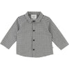 BABY BOYS GREY CHECKED SHIRT