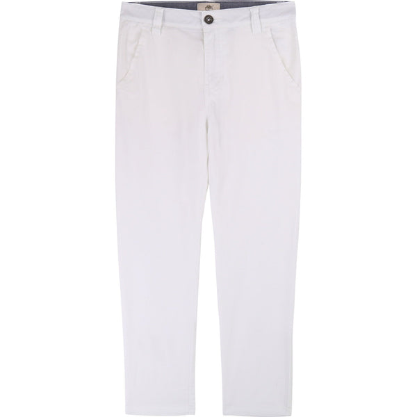 BOYS WHITE TROUSERS