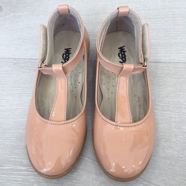 Woopy Leather Valentina Shoes Salmon