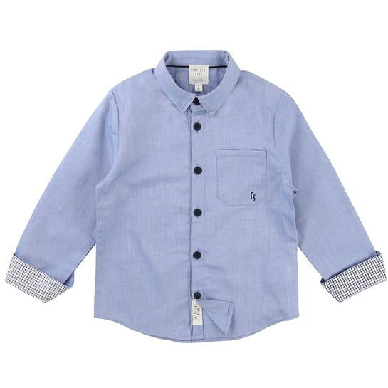 BOYS BUTTON DOWN OXFORD SHIRT