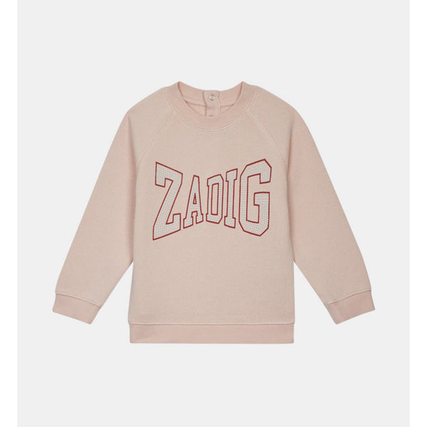 GIRL LOGO SWEATER