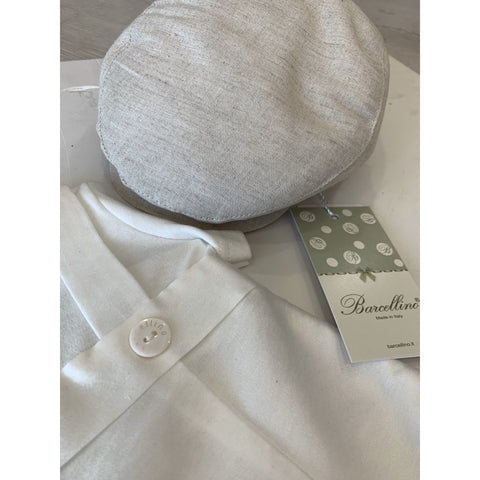 DAMIANO LINEN HAT