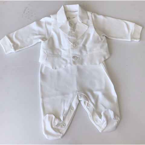 CIELO BABY BOY OVERALL THREE PIECE SET