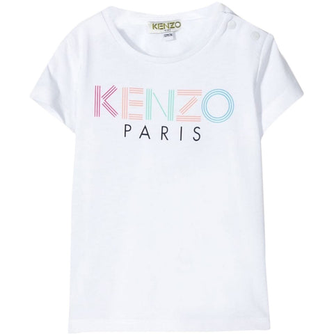 MINI ME BABY GIRL  MULTI COLOURED LOGO T-SHIRT
