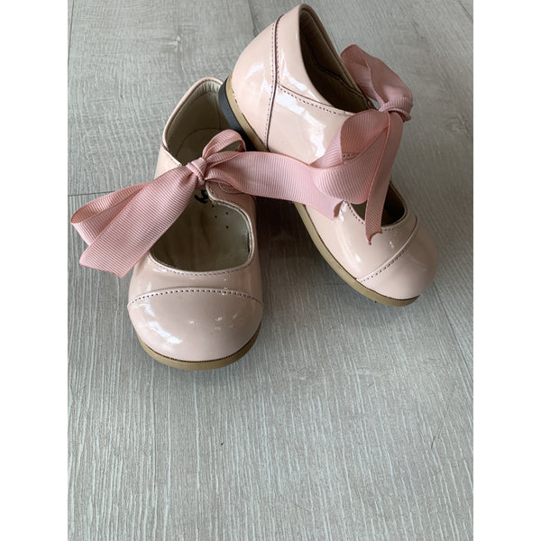 Woopy Leather Viviana Shoes Powder