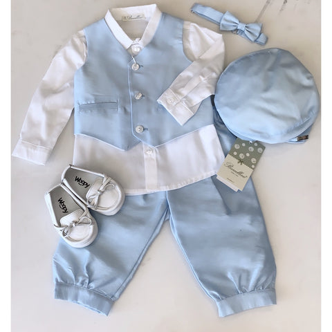 DONATELLI BABY BOY FOUR PIECE SUIT SET