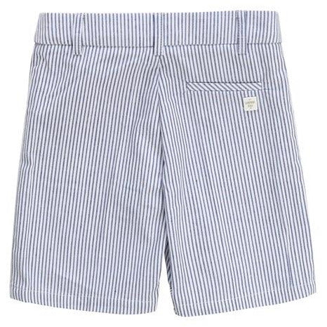 STRIPED SUIT BERMUDA SHORT