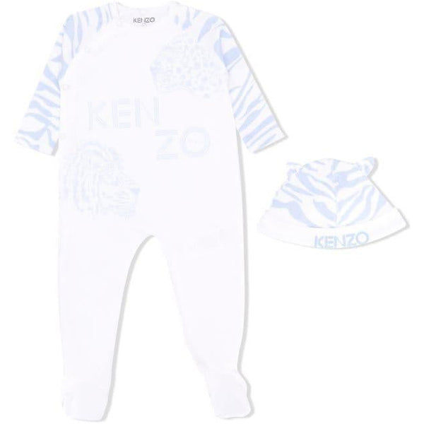 BABY BOY TIGER ROMPER SET