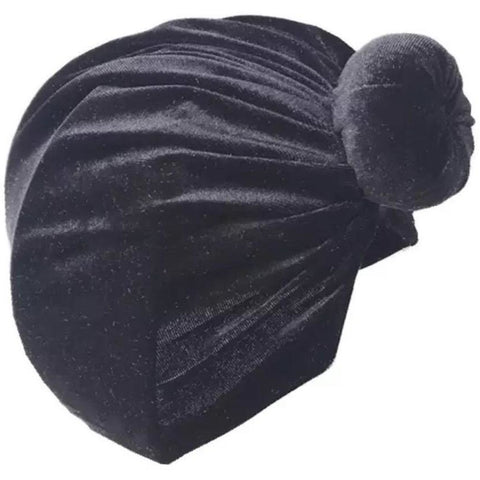 BABY VELOUR TOP KNOT TURBAN