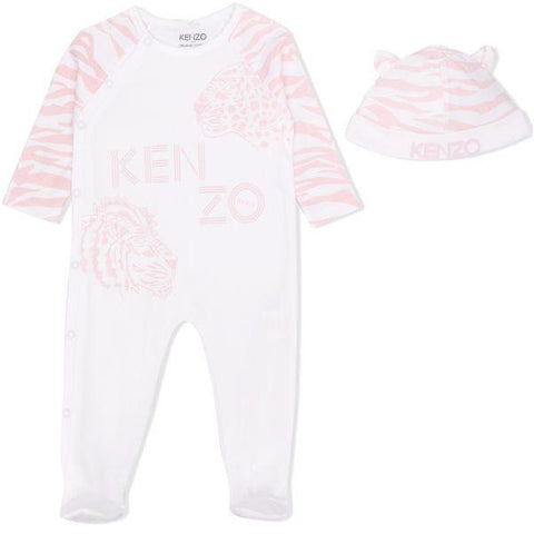 BABY GIRL TIGER ROMPER