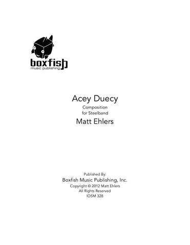 Acey Duecy for Steelband -Matt Ehlers