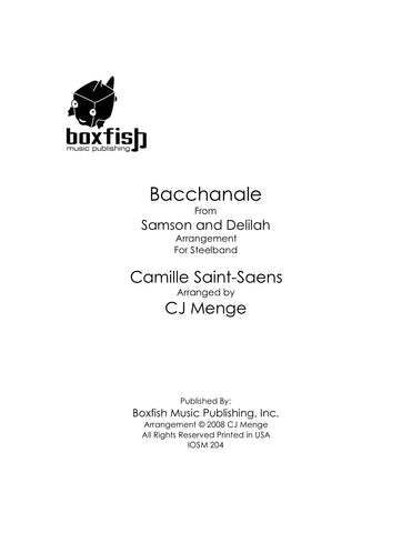 Bacchanale from Samson & Delilah for Steel Band Saint-Saens/Arr. Menge