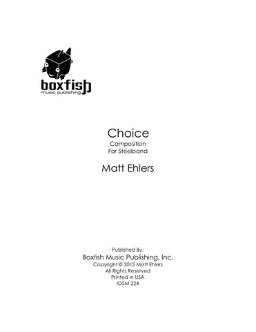 Choice for Steelband - Matt Ehlers