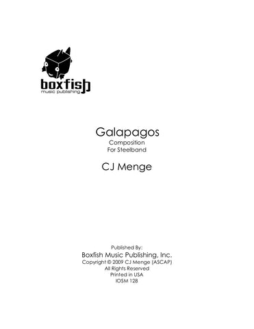 Galapagos for Steelband - CJ Menge