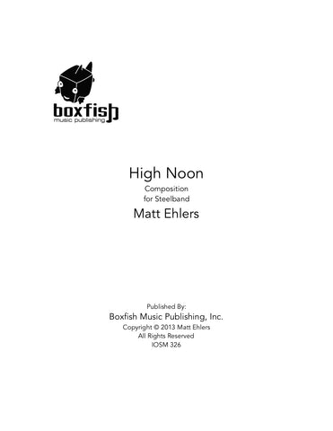 High Noon for Steelband-Matt Ehlers