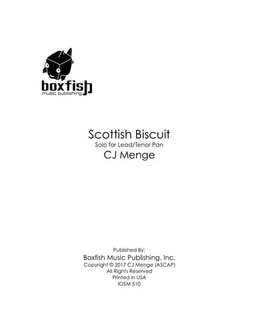 Scottish Biscuit-Solo for Lead/Tenor Pan -CJ Menge