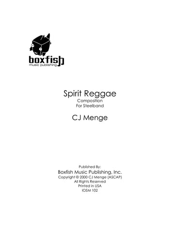 Spirit Reggae for Steel Band -CJ Menge