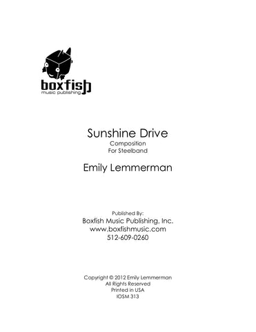 Sunshine Drive for Steel Band -Emily Lemmerman