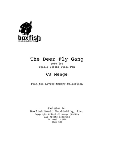 The Deer Fly Gang - Solo for Double Second Steel Pan - CJ Menge