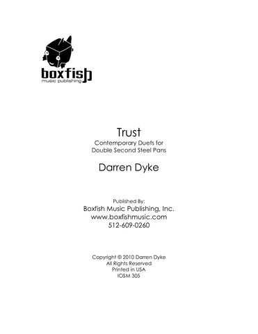 Trust-  Eleven Duets for Double Seconds -Darren Dyke