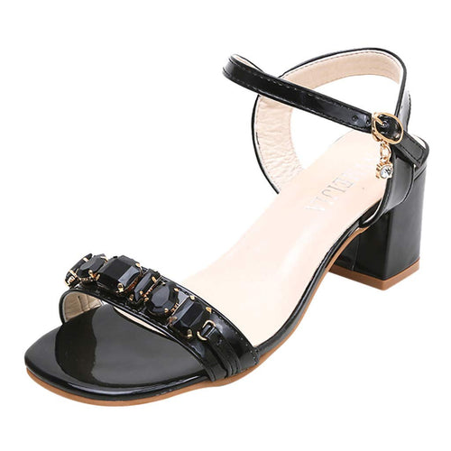 Swiusd Womens Stiletto Boots Trendy Rivet High Thin Heele Strap Buckle Booties Warm PU Leather Autumn Single Shoes Clearance