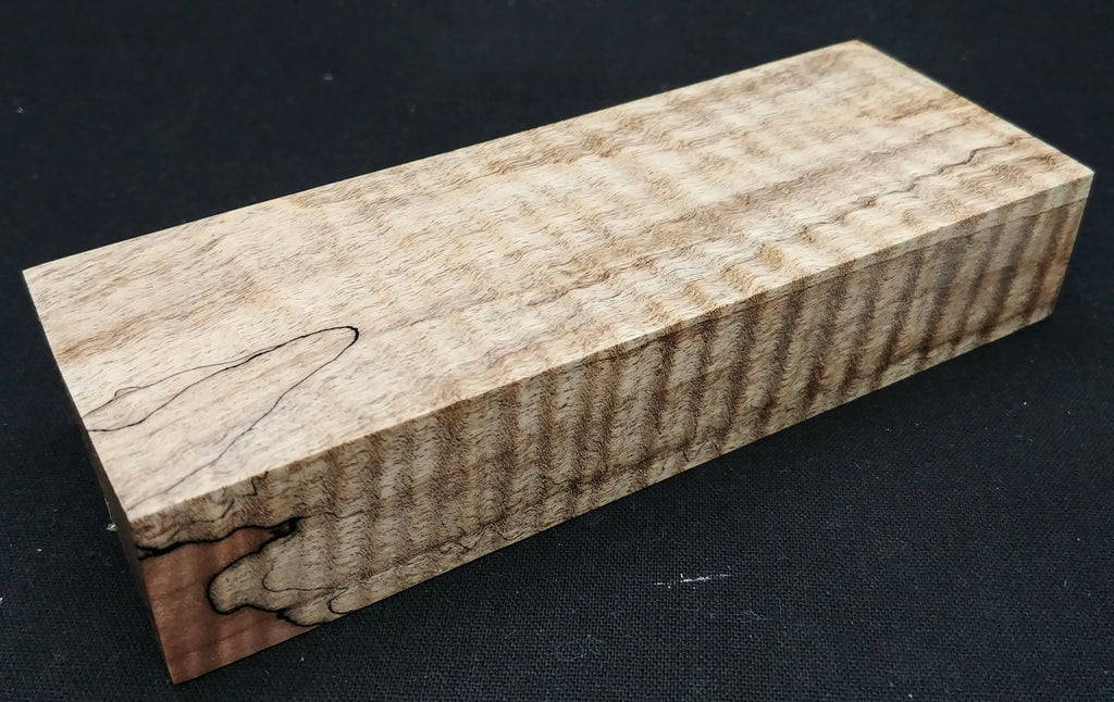 "Curly Maple (7/8"" x 1.75"" x 5"")"