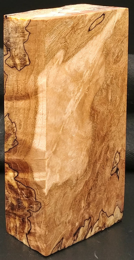 "Spalted Maple (1.25"" x 2"" x 4"")"