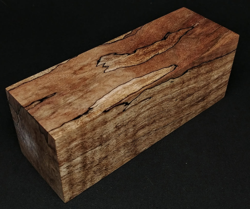 "Spalted Maple (1.75"" x 1.75"" x 4.75"")"