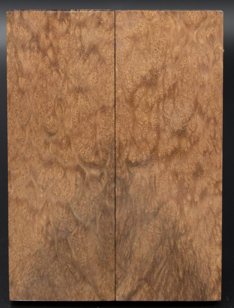 "Asian Satinwood Burl (1.75"" x 5"" x 3/8"")"