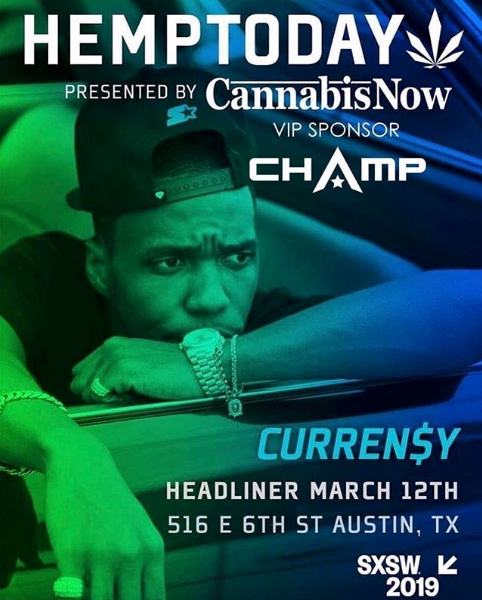 CHAMP Energy to Be the Official Energy Drink of Cannabis Now Media's Hemp Today Activation at SXSW®