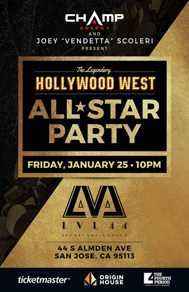 Champ Energy NHL All Star Weekend Party