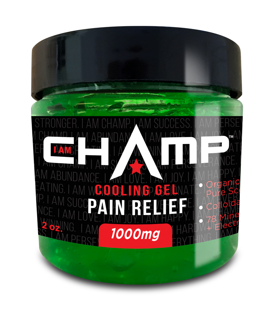 CHAMP ™ 1000mg CBD Pain Relief Cooling Gel