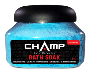 Champ CBD Bath Soak Bomb