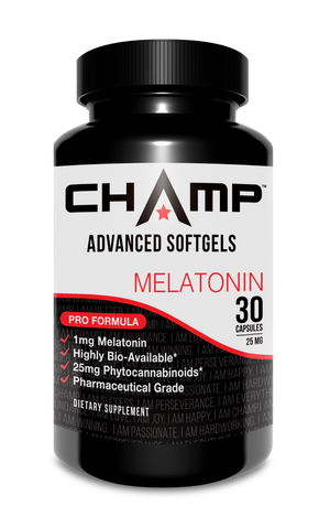 Champ CBD Melatonin Soft Gel