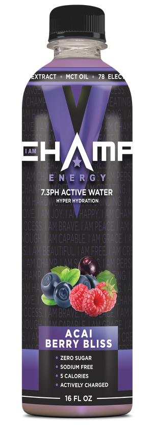 CHAMP ™ Acai Berry Bliss Actively Charged - 12 Pack