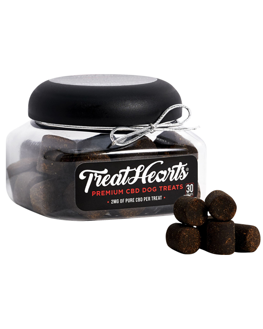 TreatHearts™ 2mg CBD Dog Treats