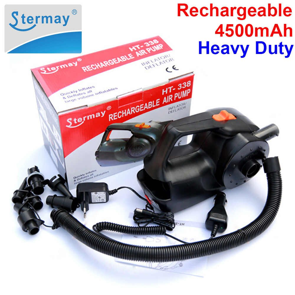 HT-338 - Electric Inflatable Air Pump - 12V DC