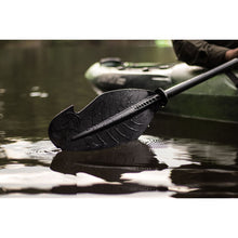 Load image into Gallery viewer, Backwater Assassin Carbon Fiber Hybrid Paddle