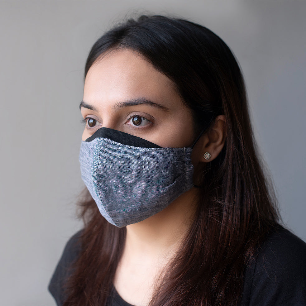 Vayu Linen Mask (Pack of 3)